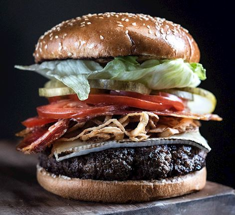 USDA Black Angus Burger